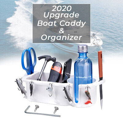 Boat Marine RV Caddy Storage For Boat Cup-Drink Holder Phone Tackle Organizer