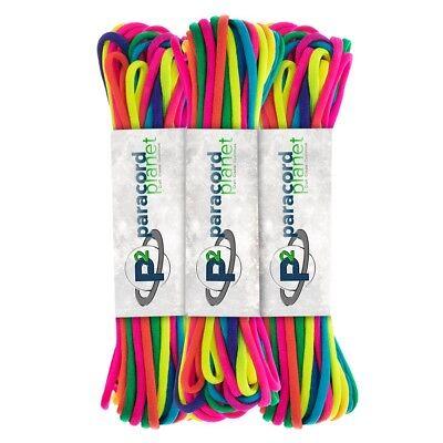 Rainbow Paracord (Rainbow Dye Cord 101 Feet Paracord)
