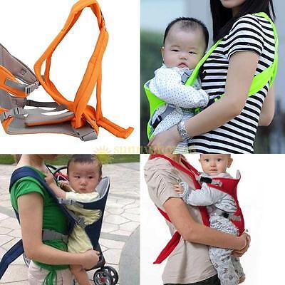 newborn infant baby carrier backpack front back