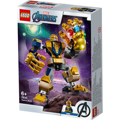 Lego Marvel Avengers Classic Thanos Mech Building Set - 76141