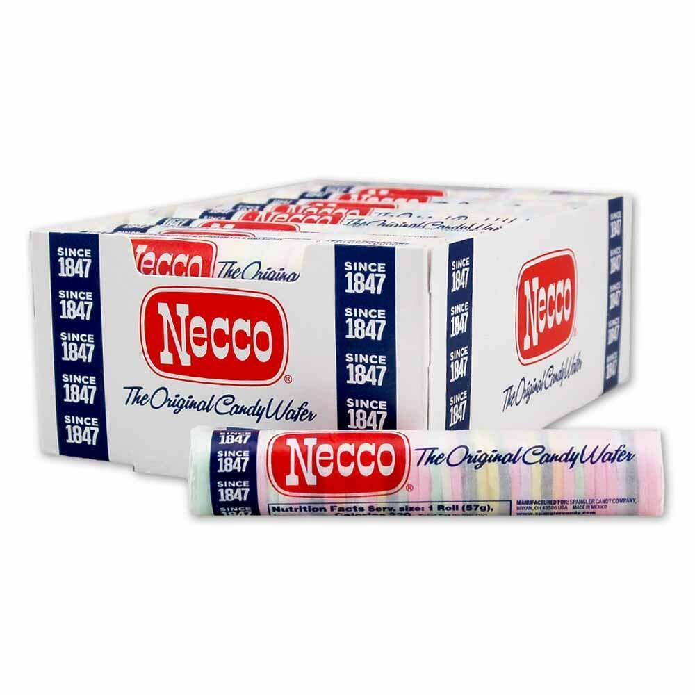 NECCO Candy Wafers – 2oz. Rolls Pick How Many! ALWAYS FRESH!! Candy