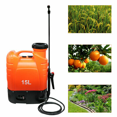 Battery Operated Backpack Electric Weed Sprayer 4/4.8 Gallon with Telescopic Rod