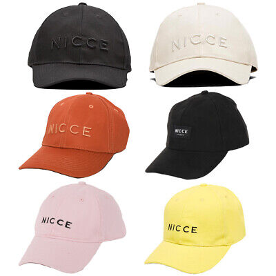 Nicce London Casual Curved Visor Caps - 6 Styles - (DD) - RRP: £19.99