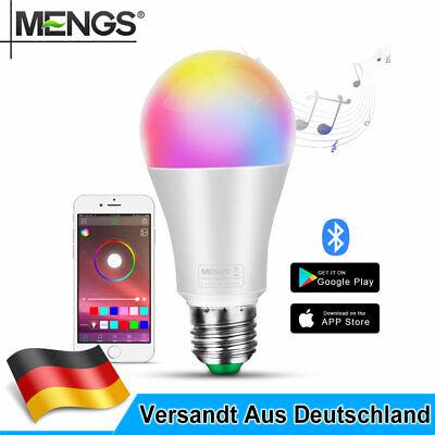 2x E27 10W=80W LED Lampe RGB mit Bluetooth APP Smart Birnen Lampe 1000LM  online kaufen