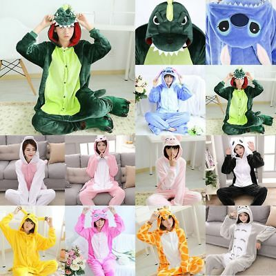 Kids Adults Animal Kigurumi Pajamas Cosplay Jumpsuit Costume Sleepwear - Children Animal Costume