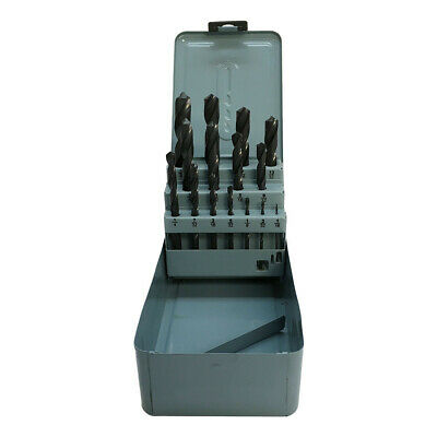 15 Pc Jobber Drill Set Metal Index Straight Shank Drill 116 - 12 By 32nd