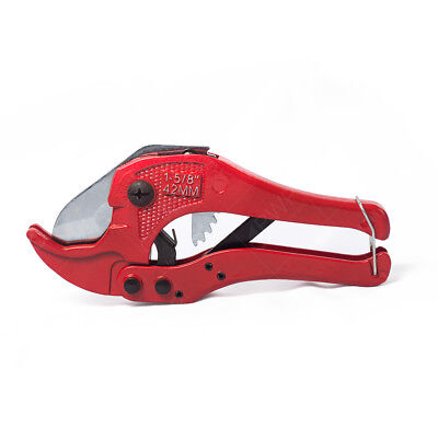 "Heavy Duty PVC Pipe Cutter with Metal Handle 1- 5/8"" (42mm)"