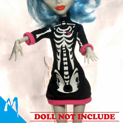 Monster High Childrens Clothes (Monster High Create-A-Monster Skeleton Clothe add on pack NEW)