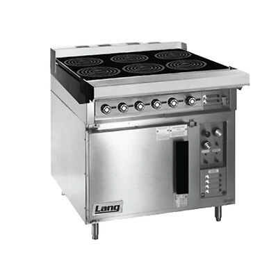 """Lang RI36C-ATE 36"""" Electric Induction Range W/ 6 8"""" Induction Hobs"""