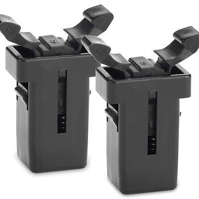 2x Addis Compatible bin Catch Push Top lid Clip replacement Latch Addis Clip