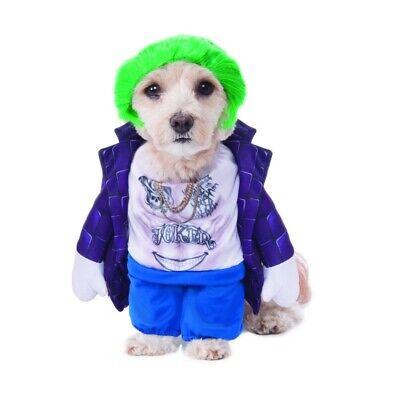 Suicide Squad The Joker Pet Costume, 580668, Rubies ()