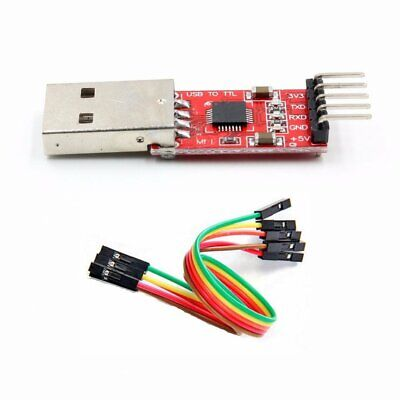 Cp2102 Usb 2.0 To Ttl 5pin Serial Converter Module With Cable