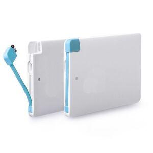 Ultra-Thin-Slim-Card-Power-Bank-2500mAh-Micro-USB-Smartphone-Powerbank