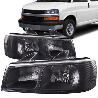 Headlight Fits 03-11 Chevy Express 1500/2500/3500, Savana 1500/2500/3500 03-11