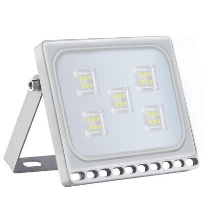 Led-flut-licht-lampe (Ultradünne 30W LED Flutlichtlampe Garden Security Scheinwerfer IP65 Kaltes Weiß)