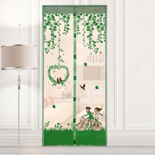 Hands-Free Magnetic Screen Door Mesh Net Anit-Mosquito Fly Insect Bug Curtain