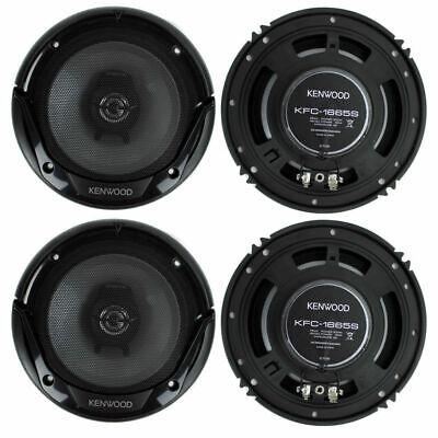 Kenwood KFC-1665S 6.5 Inch 600 Watt 2-Way Car Audio Door Coaxial Speakers New