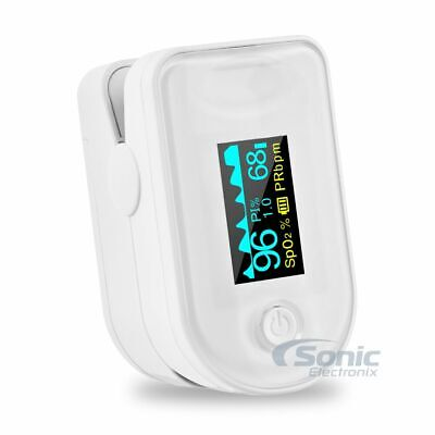 Xrgo Xoxm8 Fingertip Oled Display Blood Oxygen Monitor Pulse Oximeter With Alarm