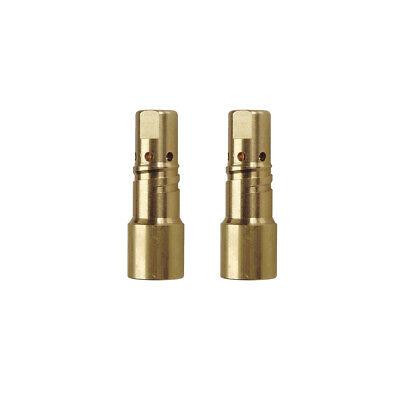 2-pk 229670 Gas Diffuser For Miller Xr-aluma Pro Welding Gun