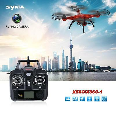 Syma X5SC/X5SC-1 Remote control Quadcopter 4CH 2.4G 6-axis Gyro w/0.3MP Camera