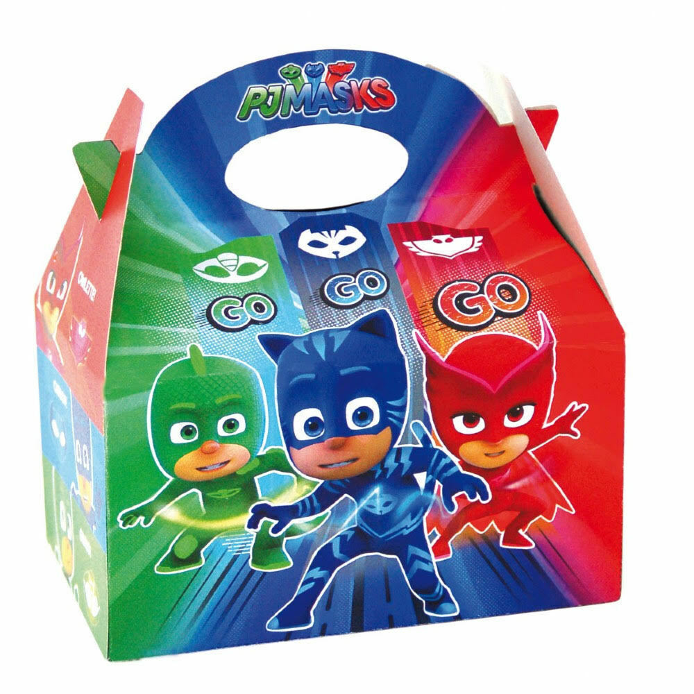 16x10x19cm PJ Masks Food Loot Party Treat Bag Boxes