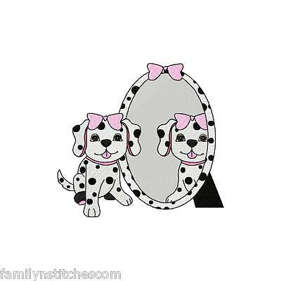 (101 Dalmatians Inspired 12 Machine Embroidery Designs on CD in 3 sizes )