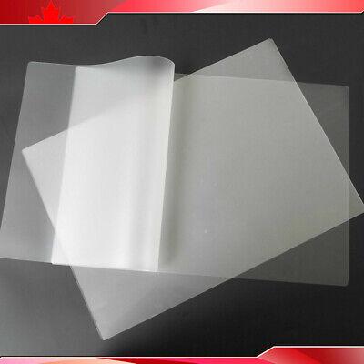 100 Pk 5mil 12x18 Large Size Pvc Photo Thermal Laminating Pouch Film Laminator