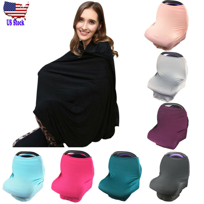 Materity Top Car Seat Cover Nursing Cover Scarf Baby Strolle