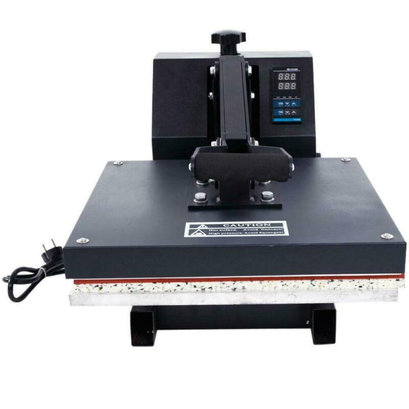 "Digital Heat Press Machine 15"" x 15"" T-Shirt Transfer DIY Various Patterns"