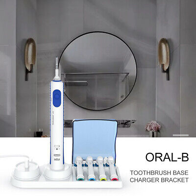 Braun Oral-B Electric Toothbrush Free Stand Charger Replacement Head Holder US