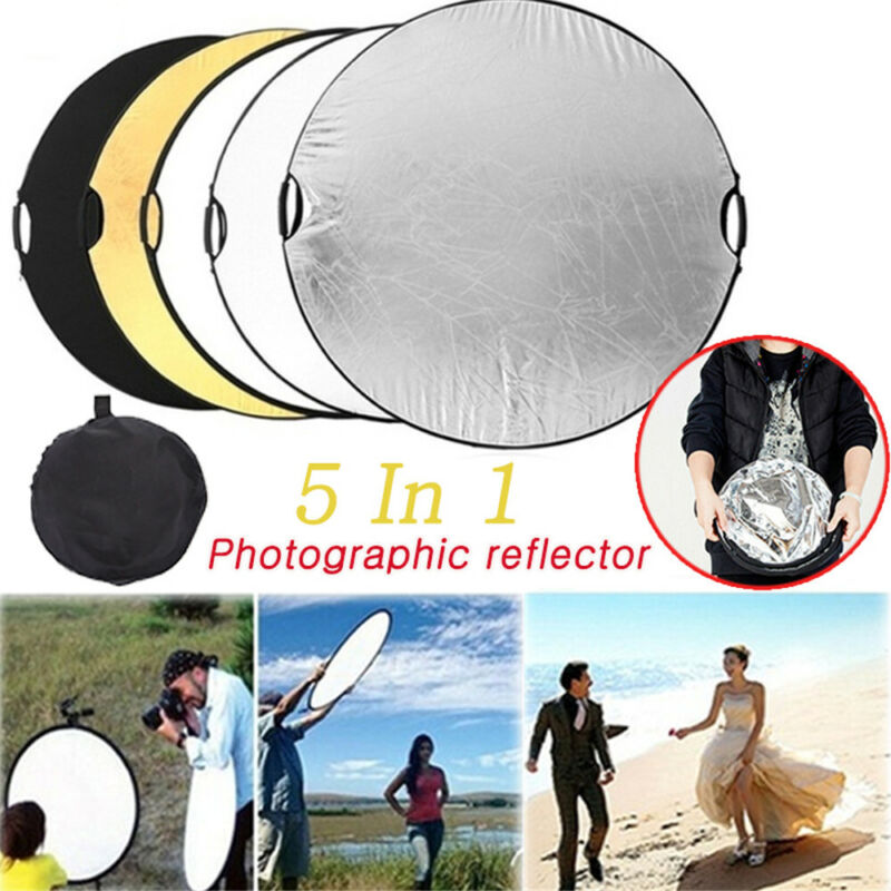 5 In 1 Photography Video Reflector Kit Reflector Outdoor Handheld Light Board
