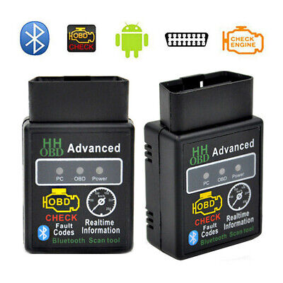 ELM327 V2.1 OBD 2 OBD-II Car Auto Bluetooth Diagnostic Interface Scanner Android