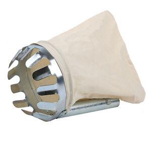 Yeoman Garden Fruit Picker Bag Tool - Apple/Orange Tree Grab Basket Head