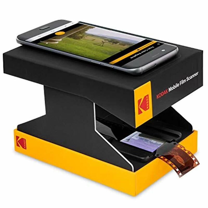 KODAK Mobile Film Scanner Scan & Save Old 35mm Films & Slides w/Your Smartphone