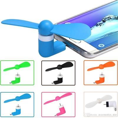 Mini Portable USB Fan For Android iPhone 5 6 6s 7 Samsung Galaxy iOS x 1