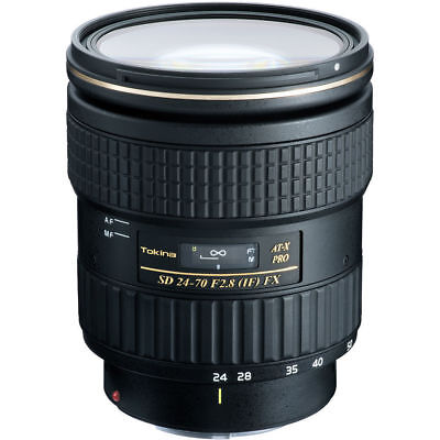 Nuevo Tokina AT-X 24-70mm F2.8 PRO FX Lens (Nikon)