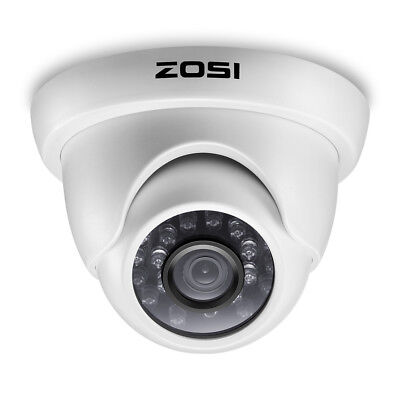 ZOSI 1080P 2.0MP TVI 3.6mm Lens Outdoor Dome IR Day Night CCTV Security Cameras Cctv 3.6 Mm Lens
