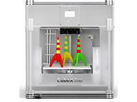Cheap 3D Printer Cubify CubeX Trio Personal Tri-Colour + X6 Spools of ABS, Hardly Used Boxed as New