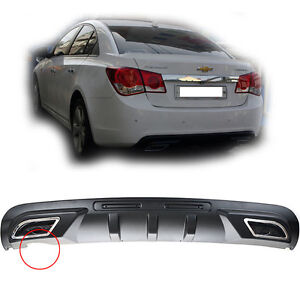 Chevy Holden Cruze (2009~2011) Rear Dual Diffuser Black free shipping