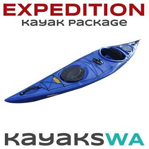 "New ""Expedition"" Sea, Touring Kayak with Spray deck and Paddle Perth Perth City Area Preview"