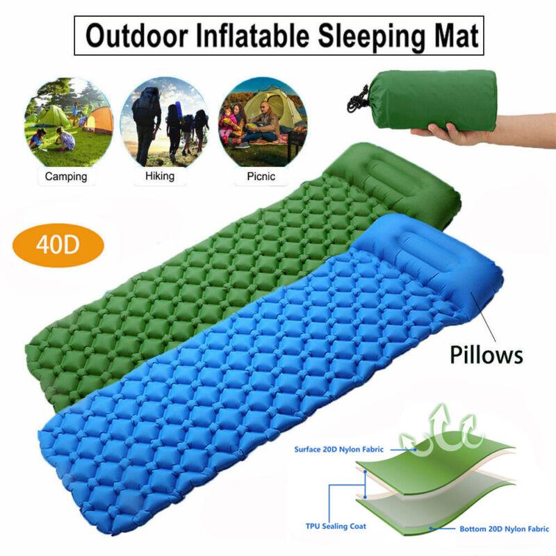 Ultralight Camping Hiking Backpacking Sleeping Pad Inflatabl