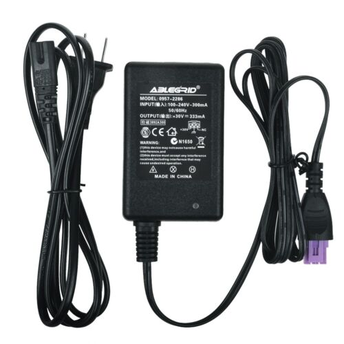 AC Power Adapter Supply & Cord For HP Deskjet 3050A e-All-in-One Printer J611