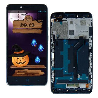 Duo Display - For ZTE Max Duo Z963 Z962 Z963VL Z962BL LCD Touch Screen Display Digitizer Frame