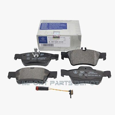 Mercedes Rear Brake Pads Pad Set Genuine OE 0071020 + Sensor 21117 VIN#REQUIRED