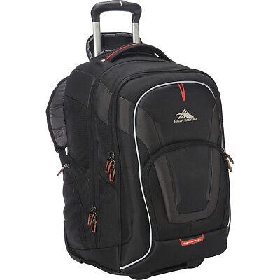 Купить High Sierra - High Sierra AT7 Wheeled Computer Backpack - Black Rolling Backpack NEW