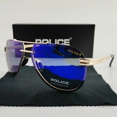 2020 New Men&Women Polarized Driving Sport Sunglasses Metal Frame Police (Police Glasses Men)