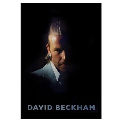 David Beckham Portrait Large Poster. Cool Football Memorabilia Funky Gift Idea (Football Poster Ideas)