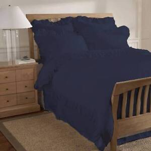 Large Blue Frilly Cushion Cover Bomaderry Nowra-Bomaderry Preview