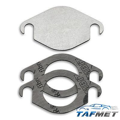 Blanking Plate (104. EGR valve blanking plate for Nissan Navara Pathfinder 2.5 D40 YD25DDTI EUR5)