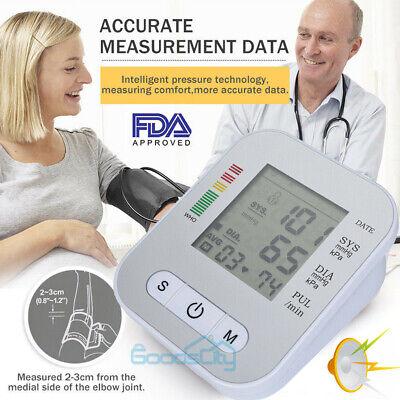 Automatic Upper Arm High Blood Pressure Monitor Bp Cuff Machine Meter Gauge Test